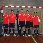 Zaalvoetbal Heiloo – Overdie Alkmaar: 7-10