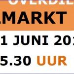Wijkfeest Overdie op 21 juni 2014
